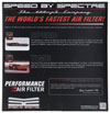 Spectre hpr0136   1985 Cadillac Seville 5.7L V8 DSL Air Filter 14in. X 3in. - Red; 1985-1985 Alternate Image 9
