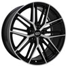 Enkei 518-880-4445bkm | Phantom 18x8.0 5x112 45mm Offset 72.6mm Bore Black Machined Wheel Alternate Image 1