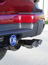 Corsa Performance 14035 | CORSA Trailblazer Tip Kit Exhaust 4.2L -; 2001-2005 Alternate Image 2