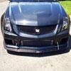 APR Performance CW-658031 |  Cadillac CTS-V Coupe / Sedan Front Wind Splitter Carbon Fiber; 2008-2015 Alternate Image 3