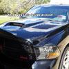 Amerihood DR09AHSSKFHW | Dodge Ram 1500 Type-SSK Style Functional Ram Air Hood; 2009-2018 Alternate Image 7