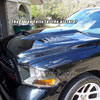 Amerihood DR09AHSSKFHW | Dodge Ram 1500 Type-SSK Style Functional Ram Air Hood; 2009-2018 Alternate Image 3