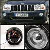 Spyder 5021489 |  Chrysler 300 300C (w/washer) Halo Projector Fog Lights W/Switch - Smoke - (FL-P-JGC05-HL-SM); 2005-2009 Alternate Image 1