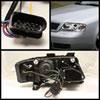 Spyder 5008664 |  Audi A6 DRL LED Projector Headlights - Chrome - (PRO-YD-ADA601-DRL-C); 2002-2004 Alternate Image 1