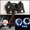 Spyder 5009180 | Chrysler 300 ( Dual Turn Signal Bulbs ) Halo LED ( Replaceable LEDs ) Projector Headlights - Black - (PRO-YD-C305-HL-BK); 2005-2008 Alternate Image 1