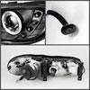 Spyder 5029102    Chevrolet Malibu 97-03 Halo LED ( Replaceable LEDs ) Projector Headlights - Black  - (PRO-YD-CM97-HL-BK) Alternate Image 1
