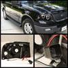 Spyder 5010117 |  Ford Expedition Halo LED ( Replaceable LEDs ) Projector Headlights - Black - (PRO-YD-FE03-HL-BK); 2003-2006 Alternate Image 1