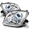 Spyder Honda Prelude 97-01 Halo Projector Headlights - Chrome