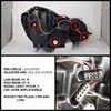 Spyder 5042200 |  Mercedes Benz E Class W211 Projector Headlights - Chrome - (PRO-YD-MBW21107-C); 2007-2009 Alternate Image 1