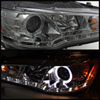Spyder 5042248 |  Mitsubishi Lancer / EVO-10 ( HID Type ) DRL LED Projector Headlights - Smoke - (PRO-YD-ML08-HID-DRL-SM); 2008-2010 Alternate Image 2