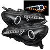 Spyder Subaru BRZ 12-14 Projector Headlights - CCFL Halo - DRL LED - Black - (PRO-YD-SUBRZ12-CCFL-BK)