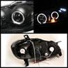Spyder 5011787 |  Toyota Corolla 2003-2008 Halo LED ( Replaceable LEDs ) Projector Headlights - Black  - (PRO-YD-TC03-HL-BK) Alternate Image 1