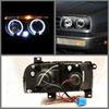 Spyder 5012197 |  Volkswagen Jetta III Halo Projector Headlights - Black - (PRO-YD-VJ93-HL-BK); 1993-1998 Alternate Image 1