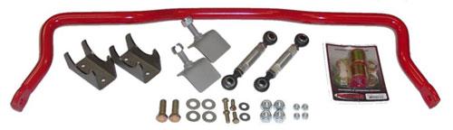 BMR Suspension XSB002 - BMR Drag Rear Anti-Roll Bar 82-02 Camaro with 2.5-2.75 axle tubes V8 / V6